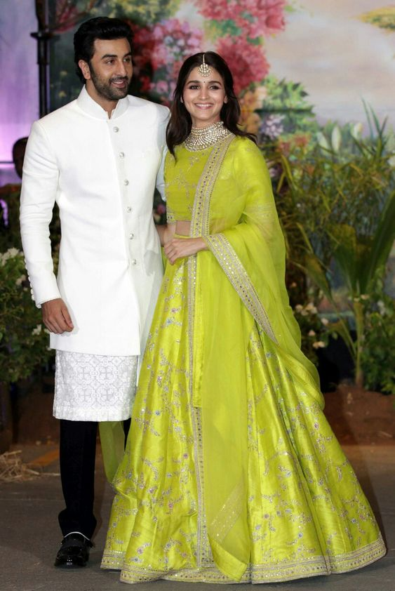 Alia with Ranbeer Kapoor
