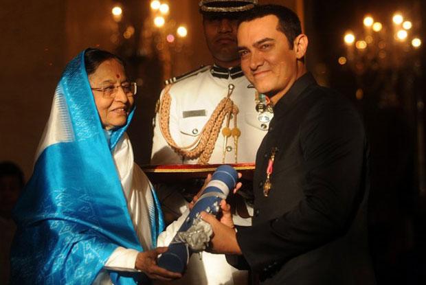 aamir-khan received Padm Shri award