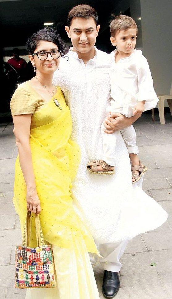 family of Aamir Khan