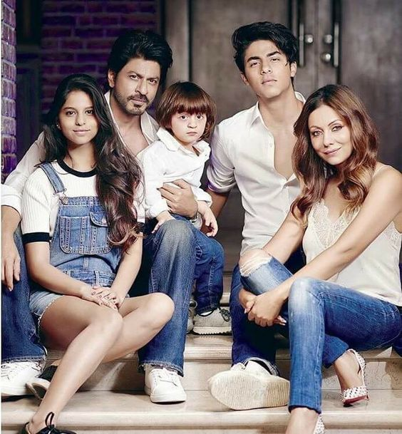 family of shah Rukh