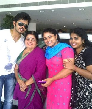 family of sreesanth