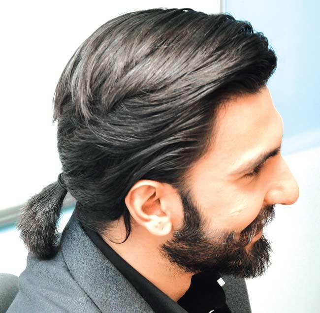 Ranveer hair-styles-short