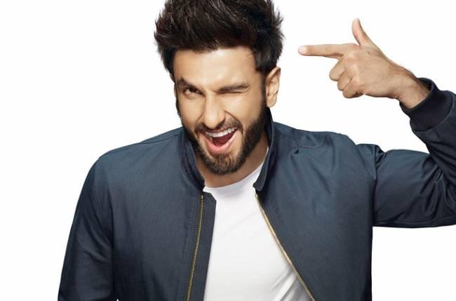 Ranveer Singh in different look