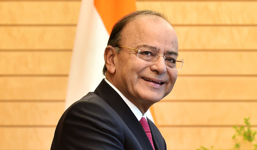 Indian Finance Minister Arun Jaitley