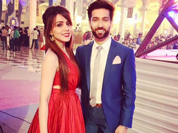 Nakuul with his Wife