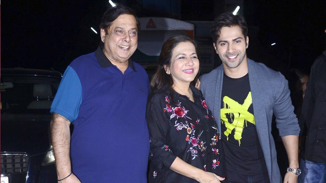 Parents of Varun Dhawan