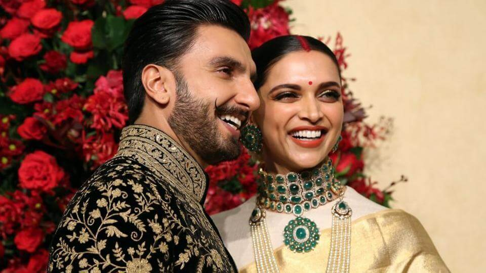 Deepika with husband
