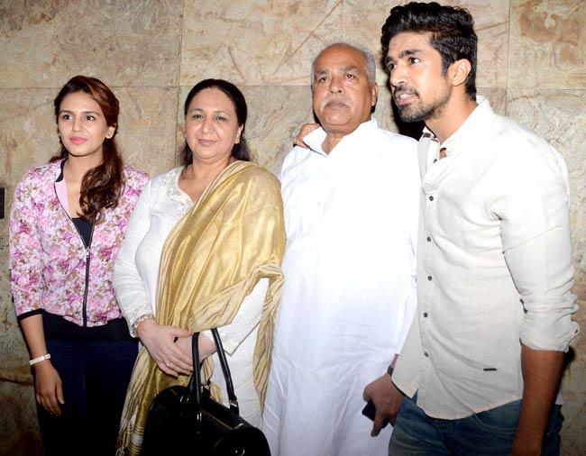 family of Huma Qureshi