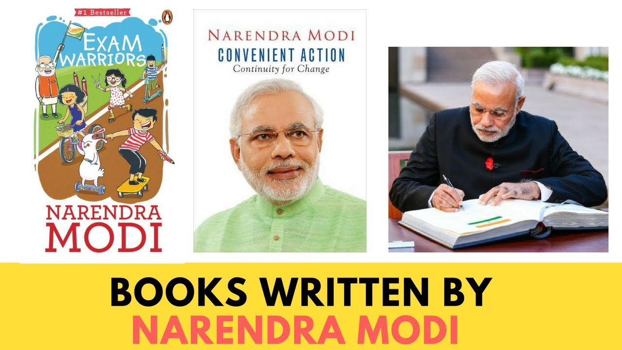 Books written by Modi