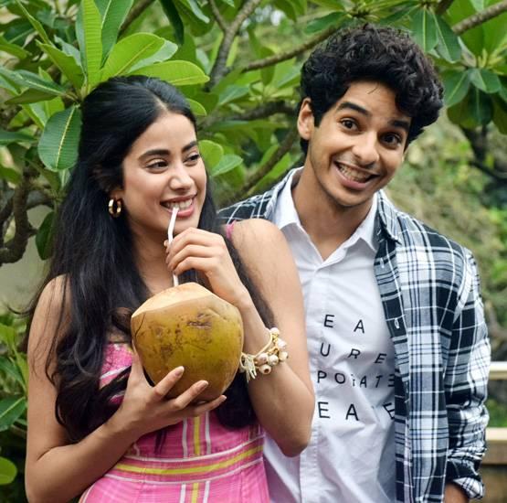 Ishaan with Jhanvi