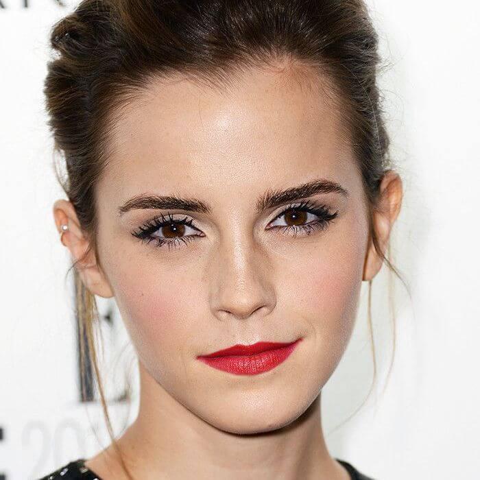 emma-watson look makeup
