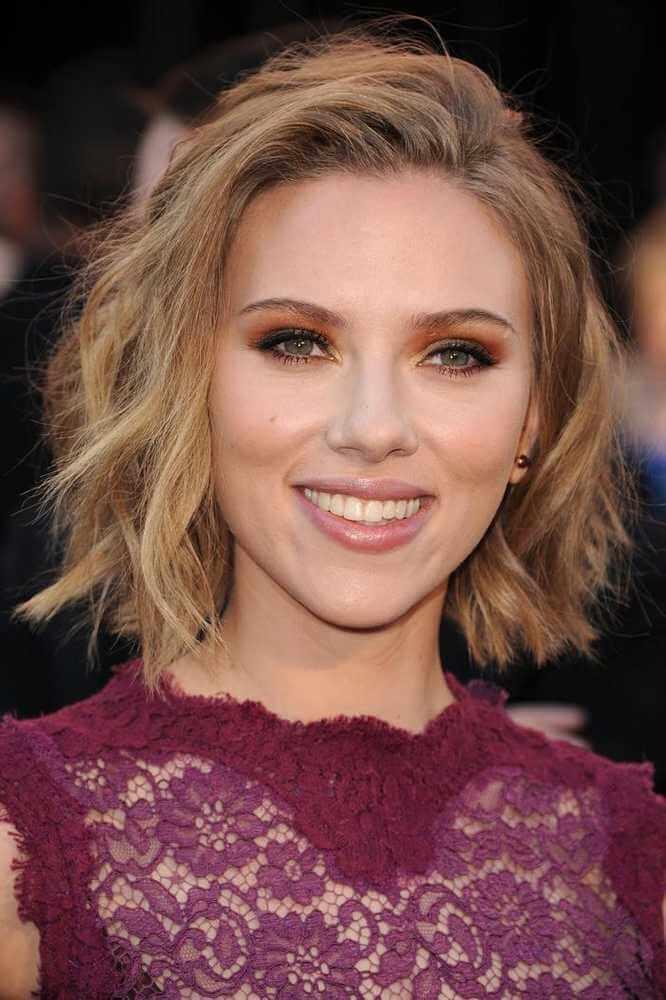 Scarlett Johansson in Short HAir