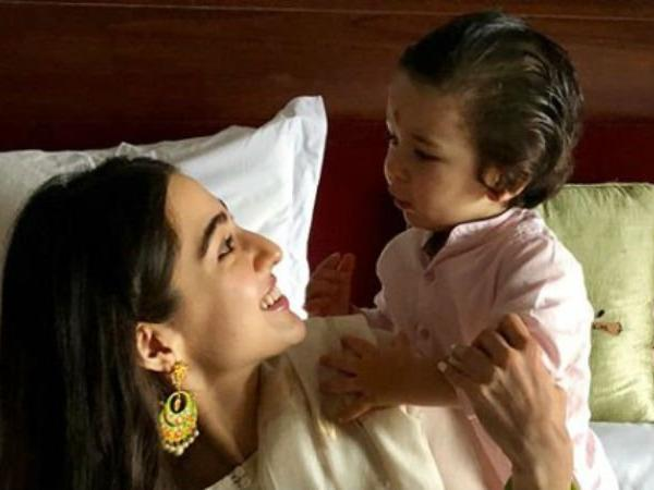 taimur with sara ali khan
