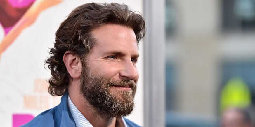 Bradley cooper in Beard looks