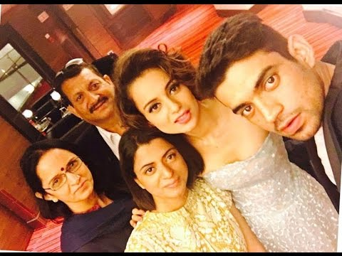 family of kangana ranaut