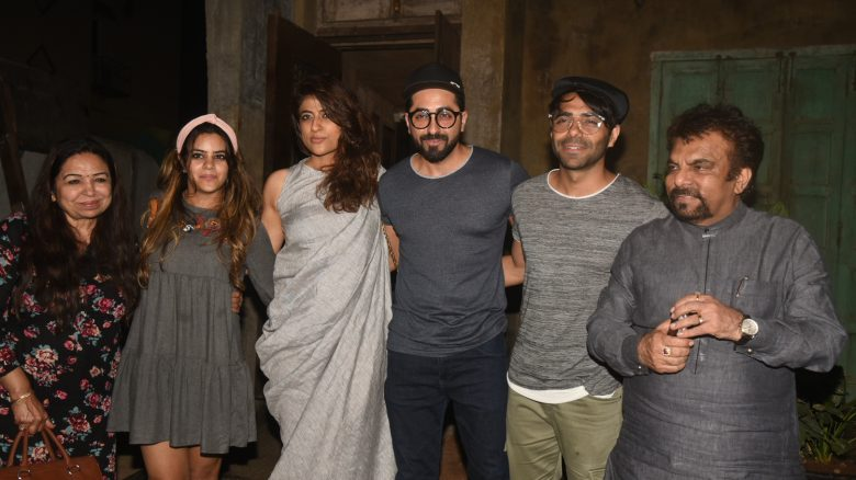 ayushmann khurrana with his family