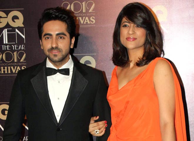 ayushmann with his wife