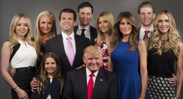 Family of Tiffany trump