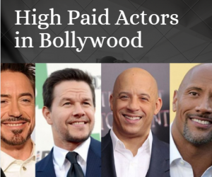 High Paid Hollywood Actors