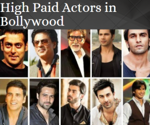 High Paid Bollywood actors