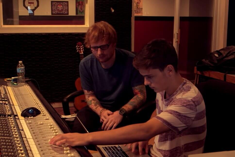 Martin Garrix with ED Sheeran