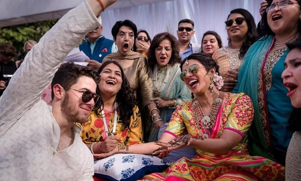 Mhendi celebration