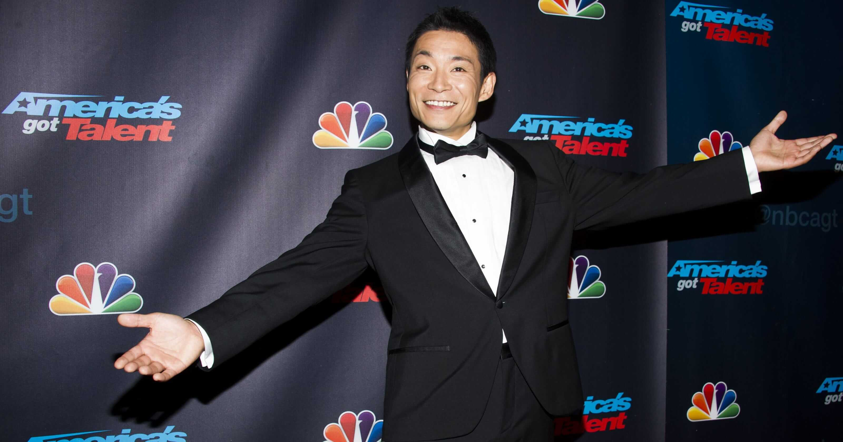 Kenichi Ebina 8th winner of the AGT