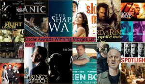 Oscar Winning Movies List