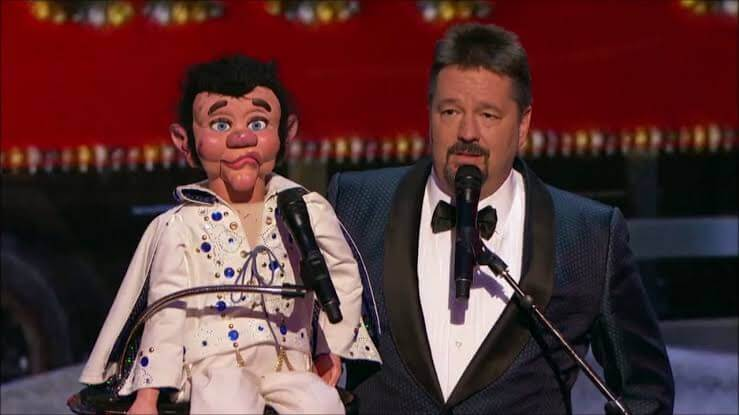 Terry Fator 2nd winner of AGT