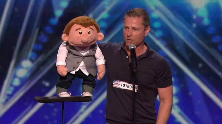 Paul Zerdin 10th winner of AGT